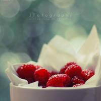 Raspberries by JeanFan