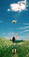 Falling: From Cloud 9 by JeanFan