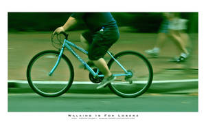 Walking Is For Loserz by JeanFan