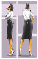 Heidi - Office Clothing by AK2thousand