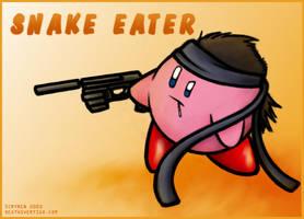 Kirby - Snake Eater by scryren