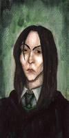 Severus Snape by theMaianebula