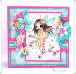 Cherry Blossom Fairy by KalinaSto