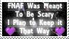 Keeping it Scary - FNAF Stamp by AngelOfTheWisp