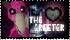 Fan of the Greeter - 123SMS (Stamp) by AngelOfTheWisp