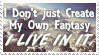 My Fantasy Is My Life - Stamp by AngelOfTheWisp