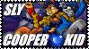 Sly Cooper Kid - Stamp by AngelOfTheWisp