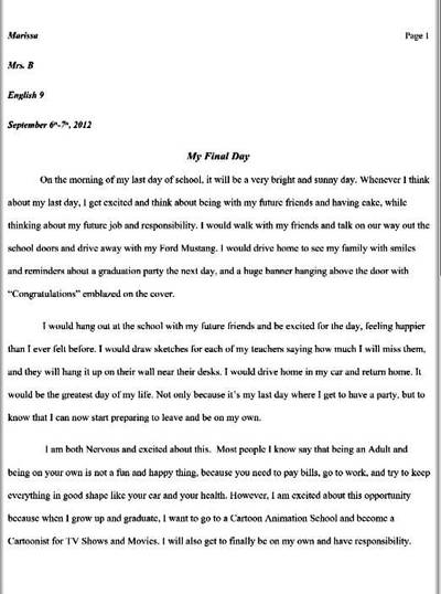 Expository Essay Thesis Statement My Th Grade Essay About After Graduation By Angelofthewisp  Sample Essay With Thesis Statement also Essay About English Language My Th Grade Essay About After Graduation By Angelofthewisp On  Persuasive Essay Examples High School