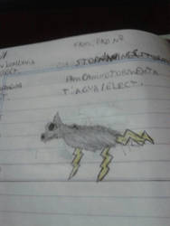 Fakemon: No ???/ Stormanine by alexjandrito