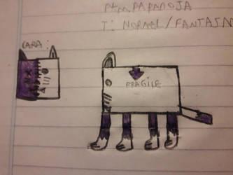 Fakemon:No???/Paraboxicat by alexjandrito
