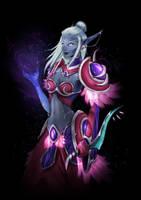 World of Warcraft - Nightborne Elf by xabiling
