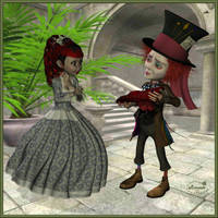 Madd hatter in love by mininessie66