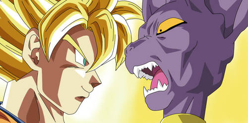 Goku vs Bills by DBKAI