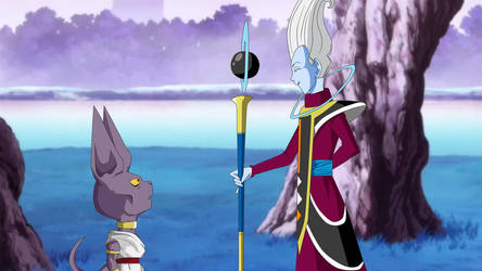 Beerus meets his new master! by DBKAI