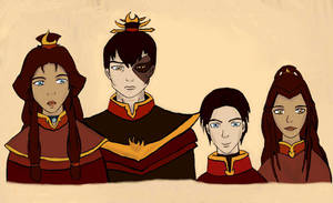 Zutara: Family by coincidense