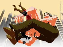 Final Fight Haggar by TenderSman