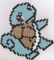 Squirtle Perler Beads by pokeman112