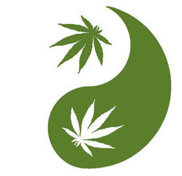 .: Marijuana Yin Yang :. by Bacoben
