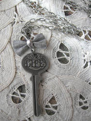 Key of Life Necklace by candycrack
