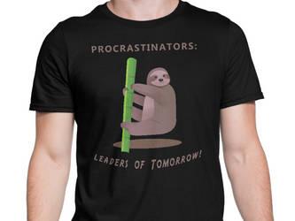 Procrastinators: Leaders of Tomorrow Short-Sleeve by eastvold