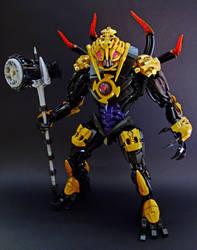 Makuta the Mask Breaker by Djokson