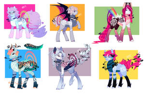 Quimirrors Ponies by kraytt-05