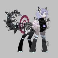 Quimirror pony oc by kraytt-05