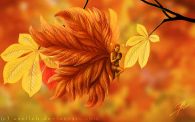 Fall Fairy 2 by Anelleh
