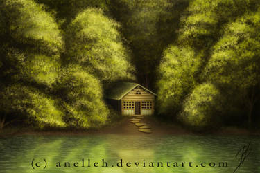 ForrestHouse by Anelleh