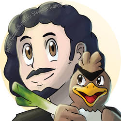Luby the best farfetch'd trainer of the world by UmbreoNoctie