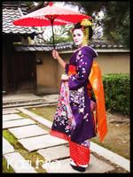 Purple Kimono by Poison-Princess