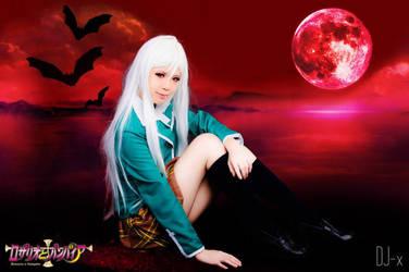 Rosario+Vampire||Moka Akashiya by sosochan1314