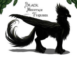 Black Fogrider adult by BahamutDeusModus