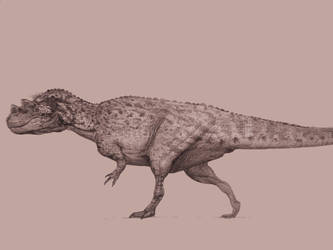 Ceratosaurus by Lucas-Attwell