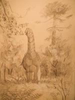 Bonitasaura by Lucas-Attwell