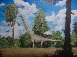 Futalognkosaurus by Lucas-Attwell