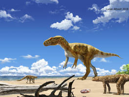 ''Saltriosaurus'' by Lucas-Attwell