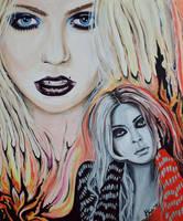 Taylor Momsen by Taranenko