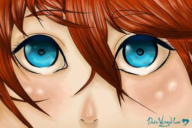 Look Me In The Eyes by DarkWingedLover