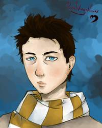 Castiel Hogwarts AU by DarkWingedLover