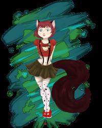 Loli Cat by DarkWingedLover