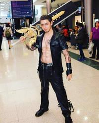 Gladiolus Final Fantasy XV cosplay by CocoDeathMetaller