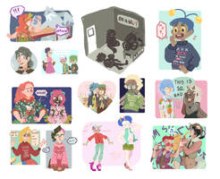 HL - A Bamboozle of Doodles by KayVeeDee