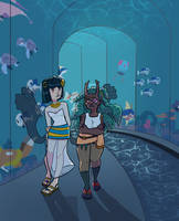 HL - Undersea stroll by KayVeeDee
