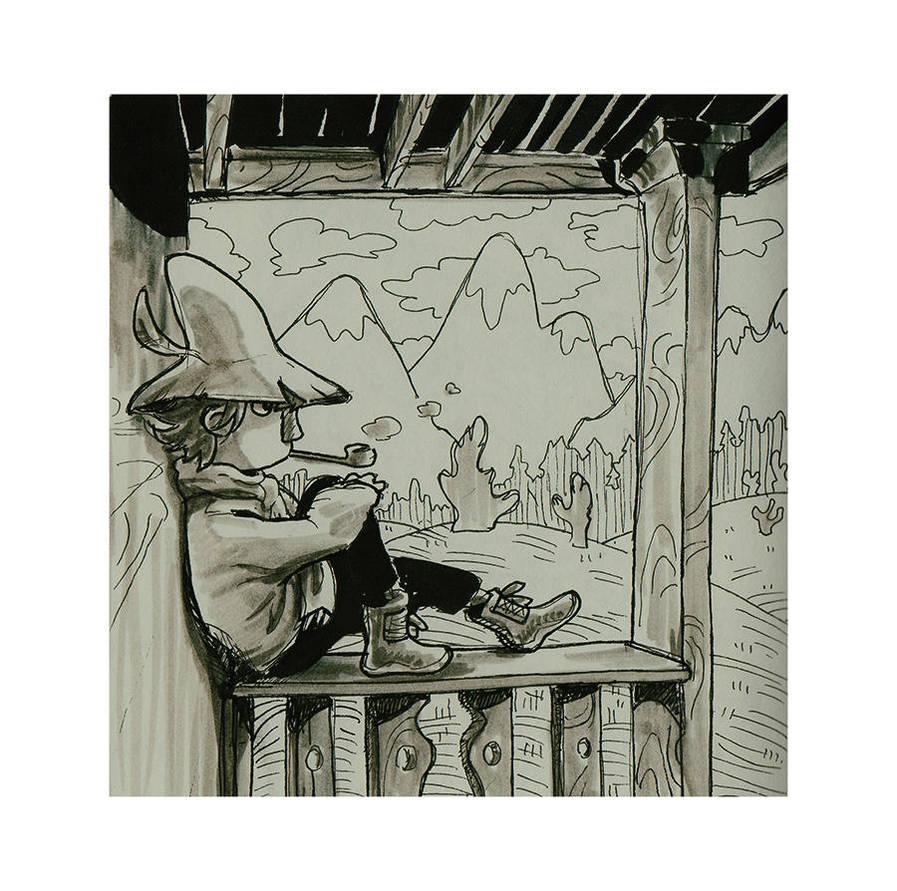 Ink Tober 28 by Gysahlgreen