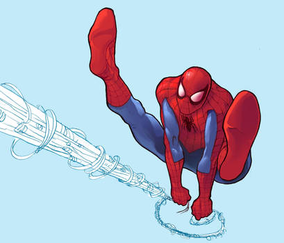Peter Parker: Spider-man by Santini