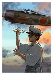 Studio Ghibli: The Wind Rises by Santini
