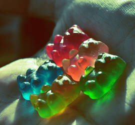 Gummy bears by StrawberryStyle