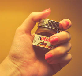 Mini Nutella by StrawberryStyle