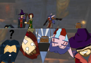 Random World of Warcraft scene by Kage-Senshu
